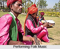 Haryanvi Music, Folk Music of Haryana