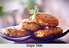 Soya Tikki, Indian Snack