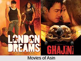 Asin Thottumkal, Indian Actress