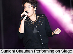 Sunidhi Chauhan, Indian Playback Singer