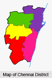 Administration of Chennai District, Tamil Nadu