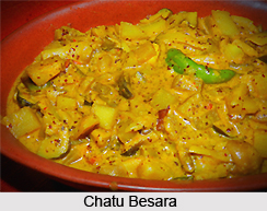 Chatu Besara, Oriya Recipe