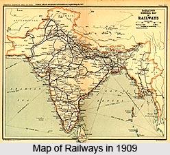 Development in Transport, British India