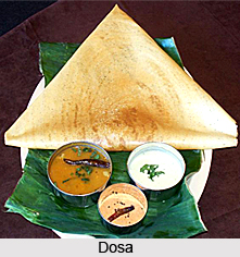 Dosa, South Indian Dish