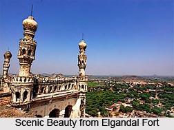 Elgandal Fort, Karimnagar District, Telangana