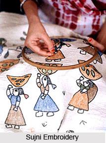 Embroidery of Bihar