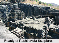 Features of Rashtrakuta Sculptures, Indian Sculpture