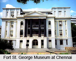 Fort St. George Museum at Chennai, Tamil Nadu