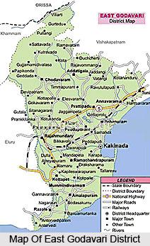 Geography Of East Godavari District,Andhra Pradesh