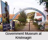 Government Museum at Krishnagiri, Tamil Nadu