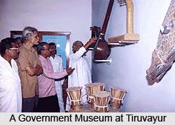 Government Museum at Tiruvayur, Tamil Nadu