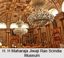 H. H Maharaja Jiwaji Rao Scindia Museum, Gwalior, Madhya Pradesh