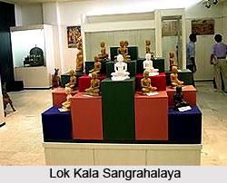 Lok Kala Sangrahalaya , Lucknow, Uttar Pradesh