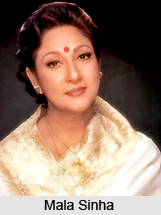 Mala Sinha, Bollywood Actress