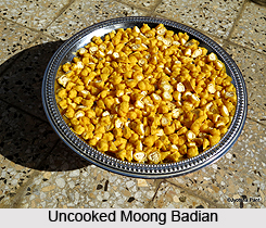 Moong Badian, Indian Snack