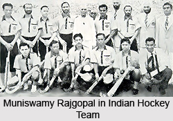 Muniswamy Rajgopal, Indian Hockey Player