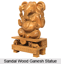 Sandal Wood carving in India