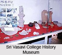 Sri Vasavi College History Museum, Erode, Tamil Nadu