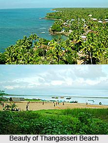Thangasseri Beach, Kollam, Kerala