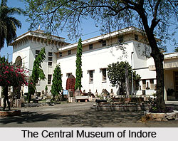 The Central Museum at Indore, Madhya Pradesh