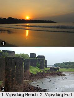 Vijaydurg Beach, Maharashtra