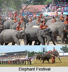 Elephant Festival, Buddhist Festival