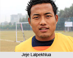Jeje Lalpekhlua, Indian Football Player
