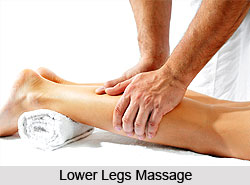 Lower Legs and Knees Massage, Aromatherapy