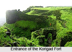 Korigad Fort, Monuments of Maharashtra