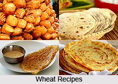 Wheat Dishes in India