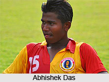 Abhishek Das, Indian Football Player