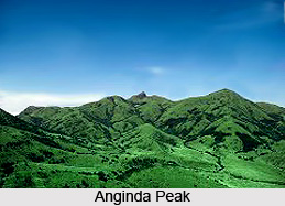 Anginda Peak, Mountain Peak of India