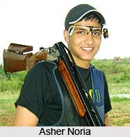 Asher Noria, Indian Athlete