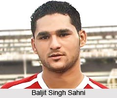 Baljit Singh Sahni, Indian Football Player
