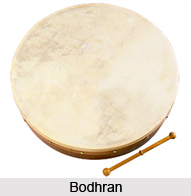 Bodhran, Percussion Musical Instrument
