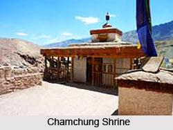 Chamchung Shrine, Leh, Jammu & Kashmir
