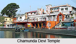 Chamunda Devi Temple, Kangra District, Himachal Pradesh