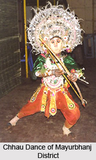 Chhau dance of Mayurbhanj