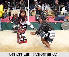 Chheih Lam, Folk Dance of Mizoram