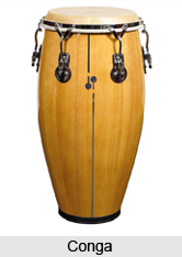 Conga, Percussion Musical Instrument