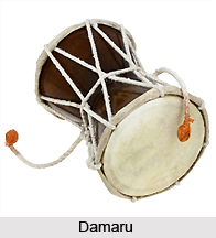 Damaru, Percussion Instruments