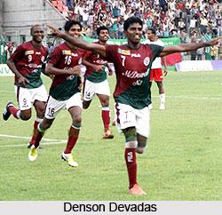 Denson Devadas, Indian Football Player