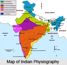 Evolution of the Indian Physiography
