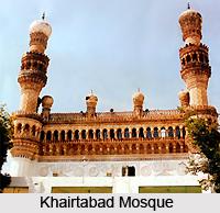 Khairtabad Mosque, Hyderabad, Telangana