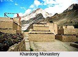 Khardong Monastery, Lahul and Spiti, Himachal Pradesh