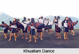 Khuallam Dance, Folk Dance of Mizoram