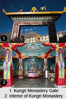 Kungri Monastery, Lahul and Spiti, Himachal Pradesh