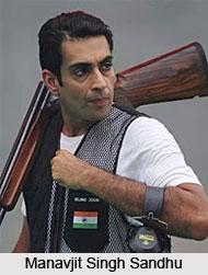 Manavjit Singh Sandhu, Indian Athlete