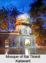 Mosque of Bai Tilokdi Kalawant, Rajasthan