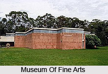 Museum Of Fine Arts at Chandigarh